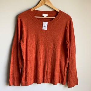 NWT J Crew teddie wool sweater size Large